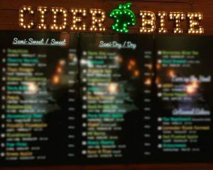 54A - Cider Bite - Display Boards Blurred